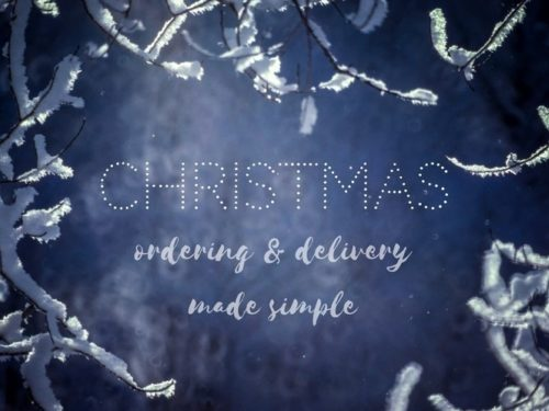 Xmas Ordering And Delivery