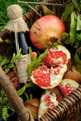 Pomegranate Box Close Up