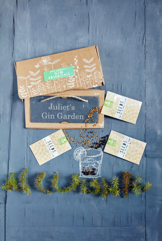 Grow Your Own Gin Botanicals Garden Gift