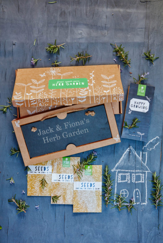 Grow Your Own Herb Garden Gift