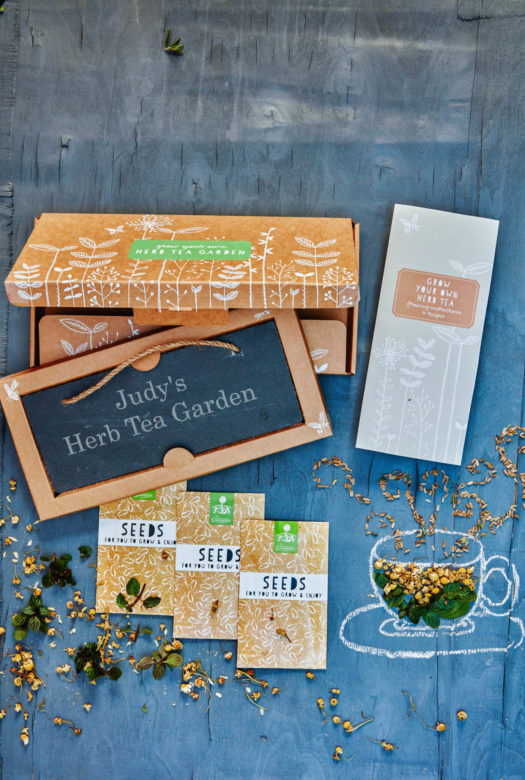 Grow Your Own Herb Tea Garden Gift
