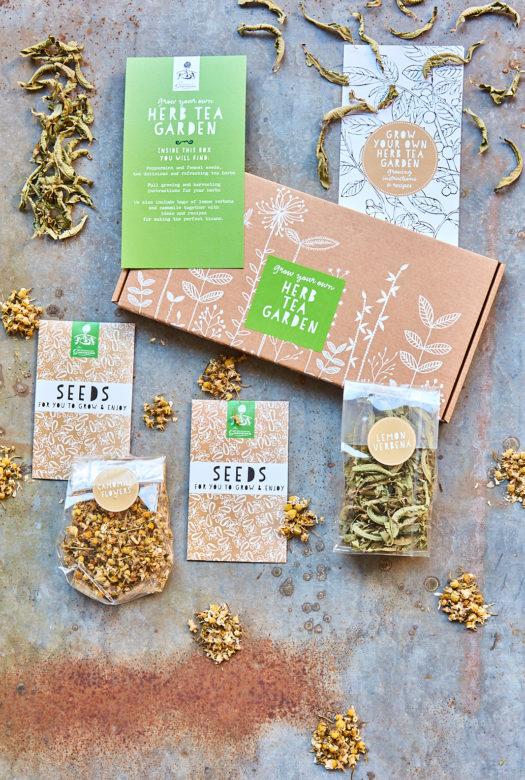 Grow Your Own Herbal Tea Garden Seeds Kit
