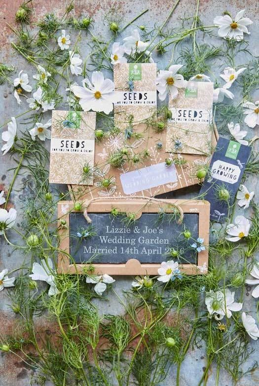 Grow Your Own Wedding Garden Gift