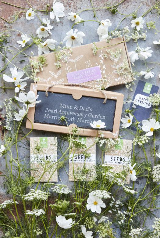 Grow your own pearl wedding anniversary Garden