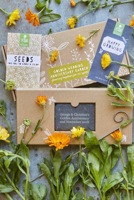 Grow Your Own Golden Wedding Anniversary Gift