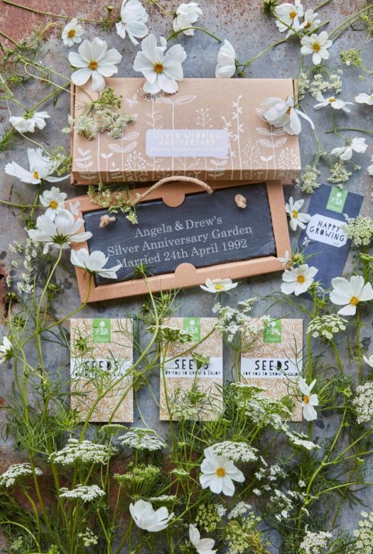 Grow Your Own Silver Wedding Anniversary Garden
