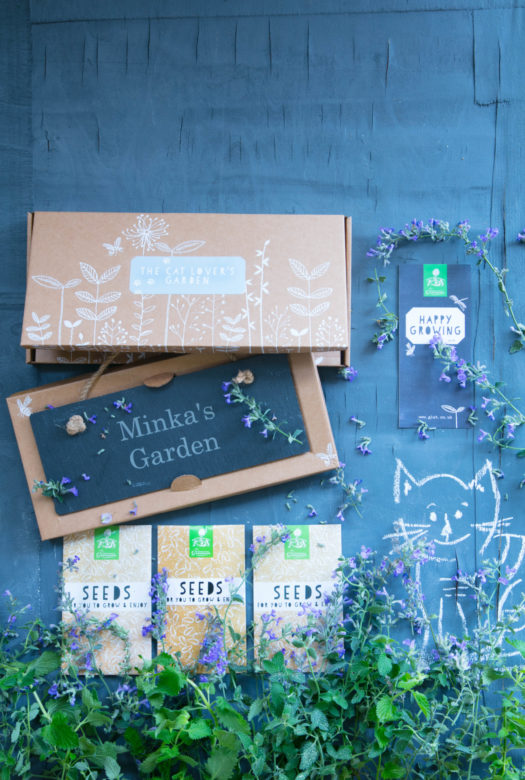 The Cat Lovers Garden Gift